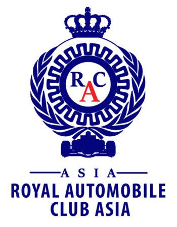 RAC ASIA Car Sticker - Transparent