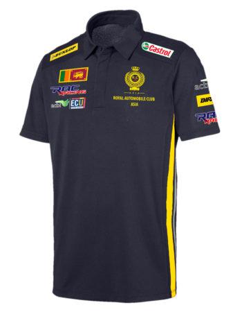 RAC ASIA Men's Collared T Shirt