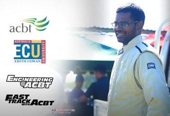 RAC Racer Yasith Gamage at Katukurunda Races 2018